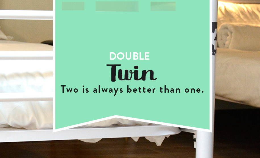 Double room twin